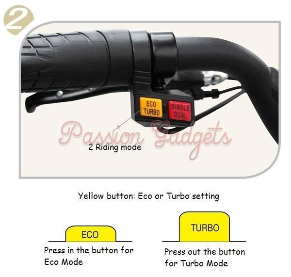 Scooter Turbo Friends: Dualtron Eco Turbo Single Dual Switch